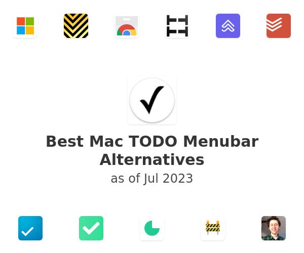 Best Mac TODO Menubar Alternatives