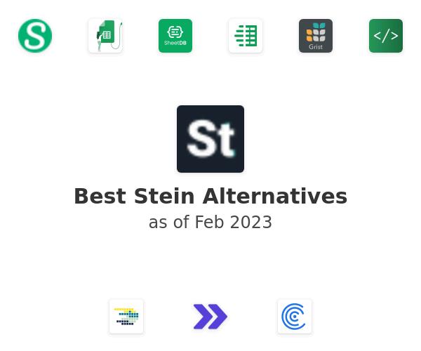 Best Stein Alternatives