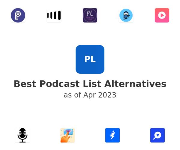 Best Podcast List Alternatives