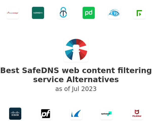 Best SafeDNS web content filtering service Alternatives