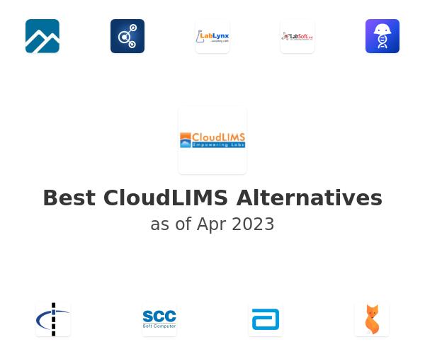 Best Cloud LIMS Alternatives