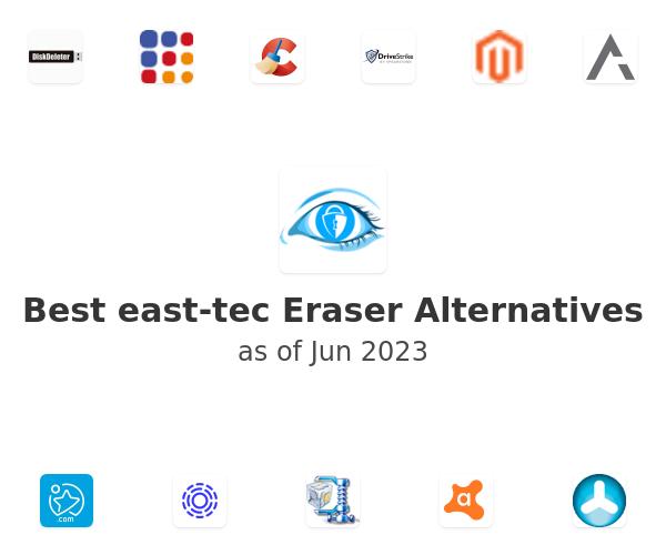 Best east-tec Eraser Alternatives