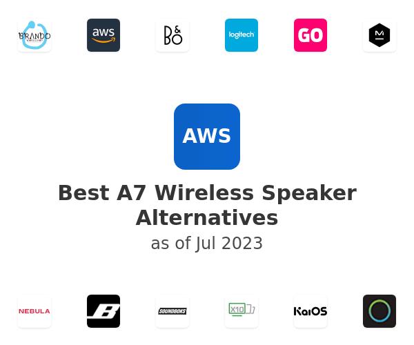 Best A7 Wireless Speaker Alternatives