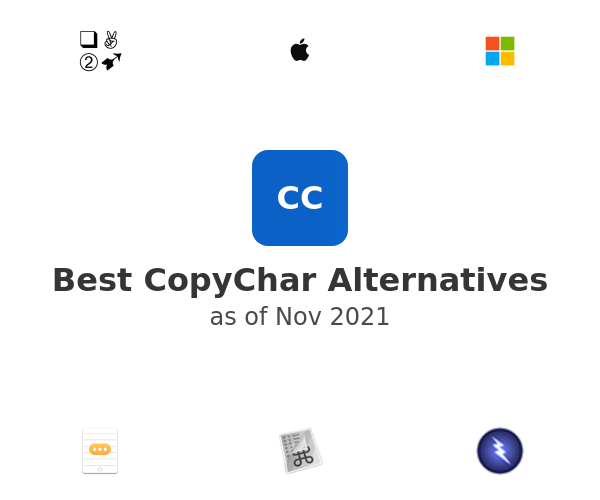 Best CopyChar Alternatives