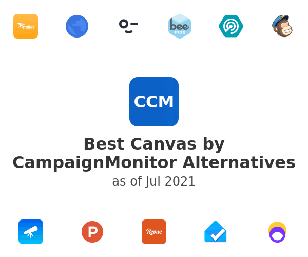Best Canvas by CampaignMonitor Alternatives