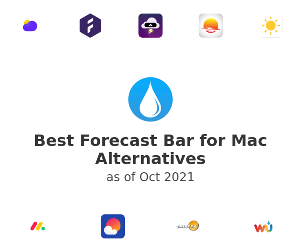 Best Forecast Bar for Mac Alternatives