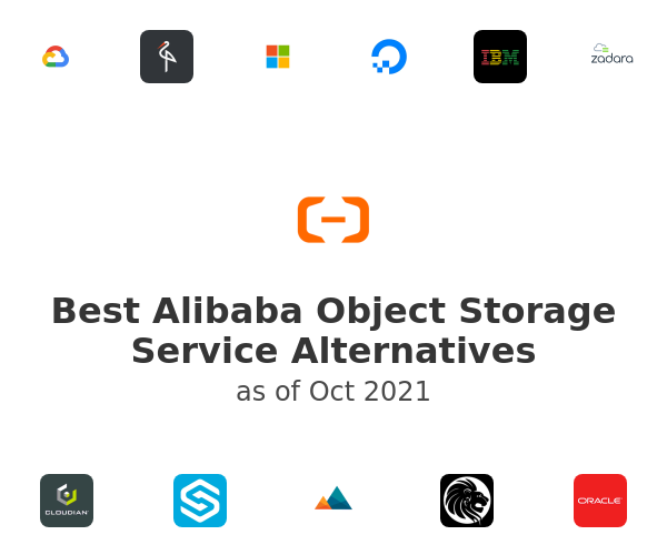 Best Alibaba Object Storage Service Alternatives