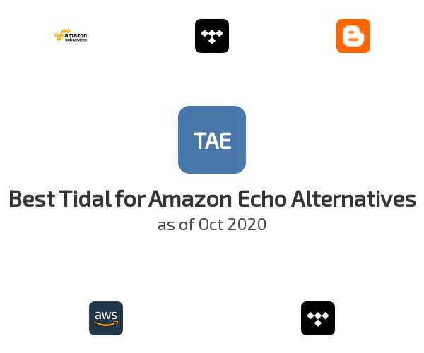 Best Tidal for Amazon Echo Alternatives