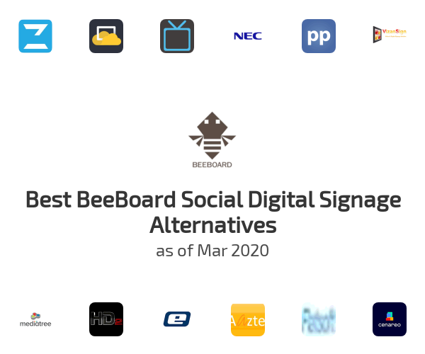 Best BeeBoard Social Digital Signage Alternatives
