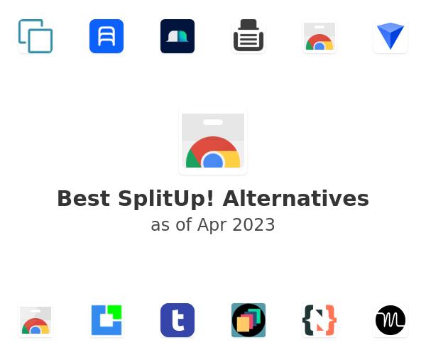 Best SplitUp! Alternatives