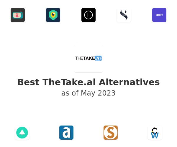 Best TheTake.ai Alternatives