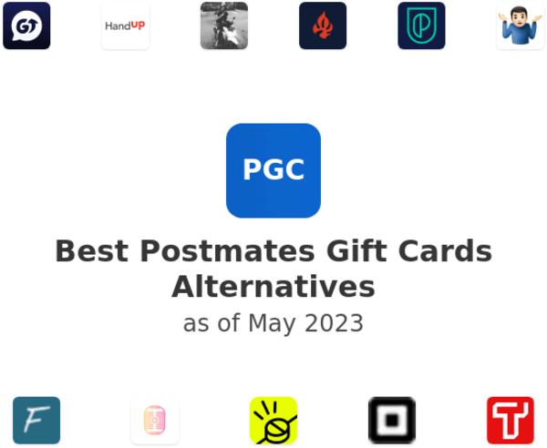 Best Postmates Gift Cards Alternatives