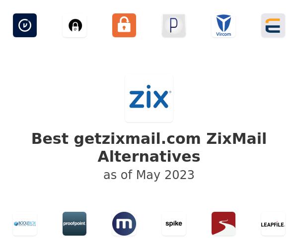 Best ZixMail Alternatives