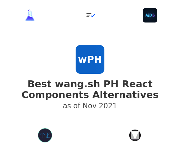 Best PH React Components Alternatives