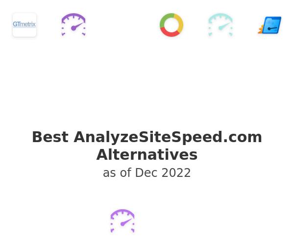 Best AnalyzeSiteSpeed.com Alternatives