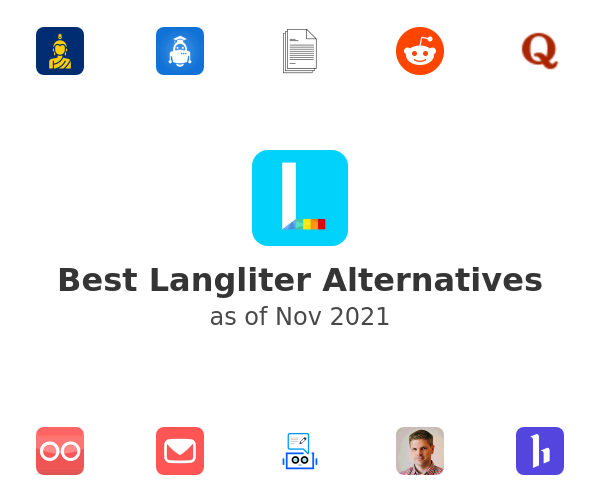 Best Langliter Alternatives