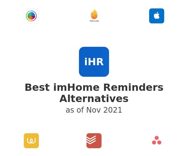 Best imHome Reminders Alternatives