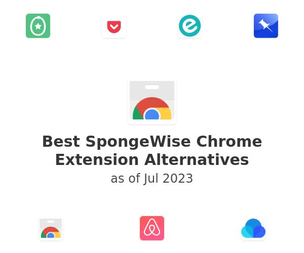 Best SpongeWise Chrome Extension Alternatives