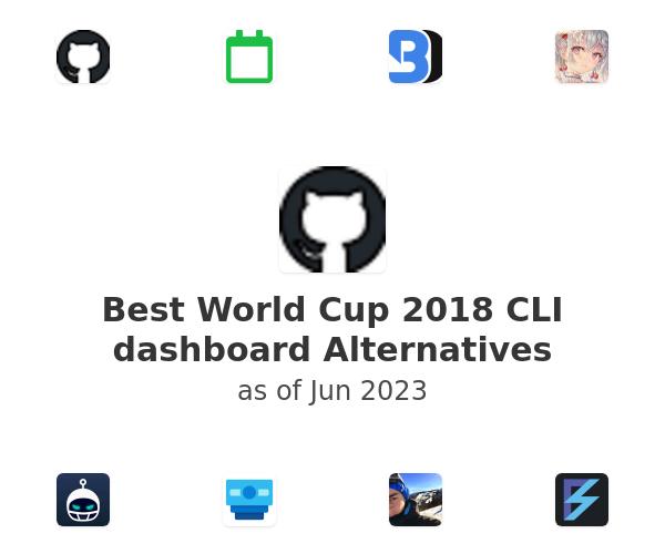 Best World Cup 2018 CLI dashboard Alternatives