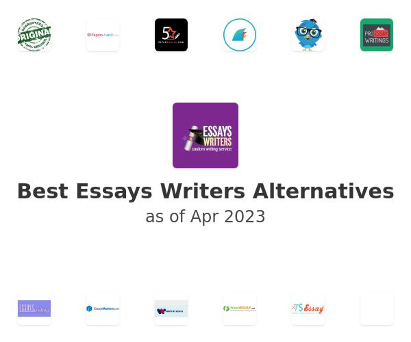 Best Essays Writers Alternatives