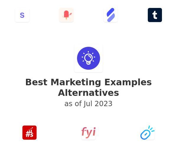 Best Marketing Examples Alternatives