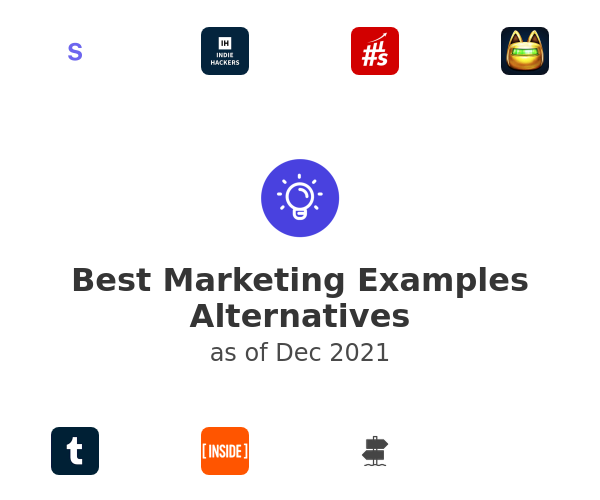 Best Marketing Examples Alternatives