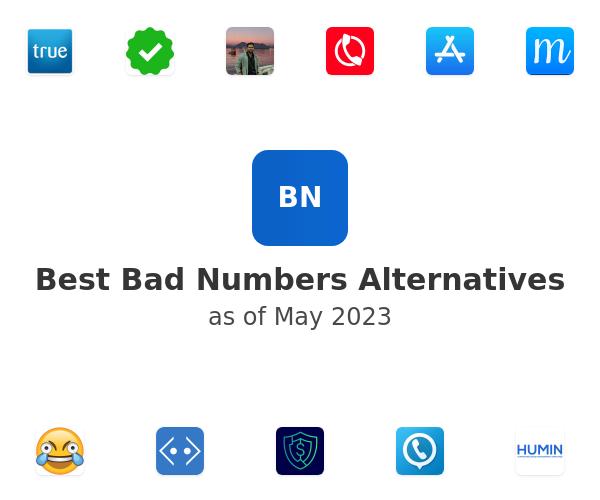 Best Bad Numbers Alternatives