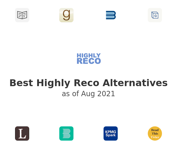 Best Highly Reco Alternatives