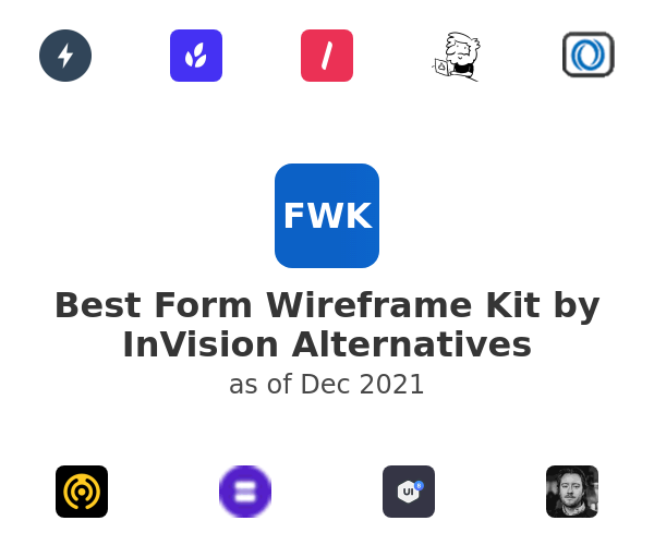 Best Form Wireframe Kit by InVision Alternatives