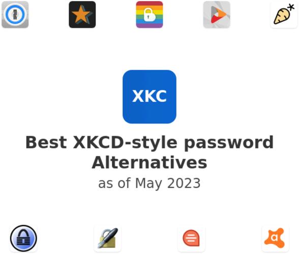 Best XKCD-style password Alternatives