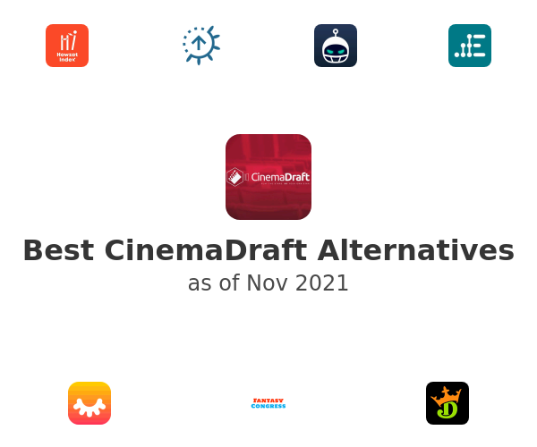 Best CinemaDraft Alternatives