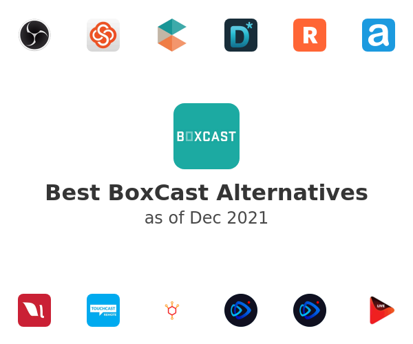 Best BoxCast Alternatives