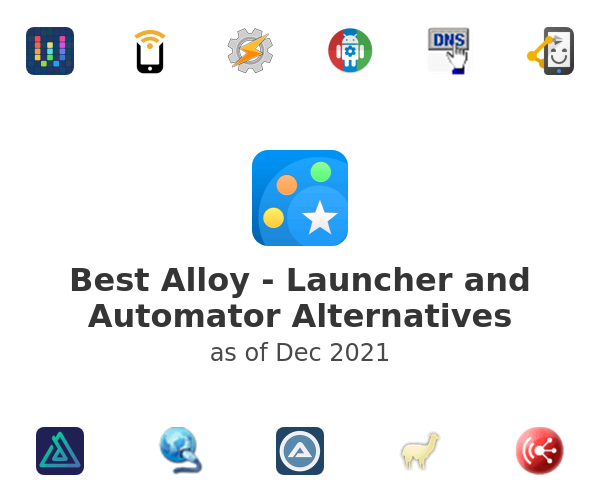 Best Alloy - Launcher and Automator Alternatives