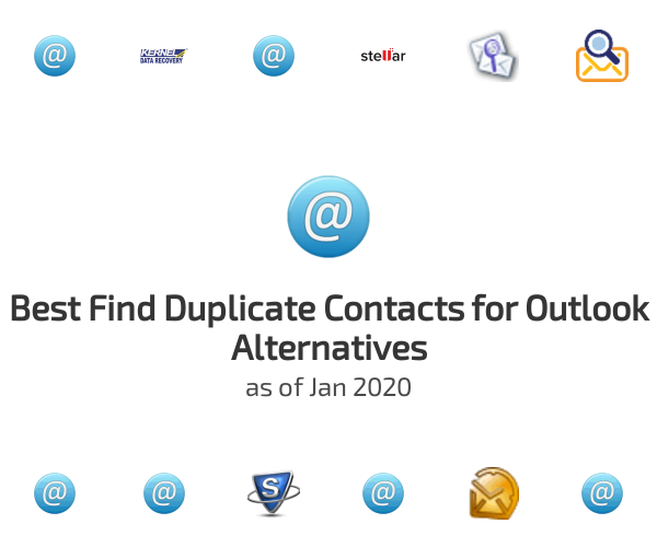 Best Find Duplicate Contacts for Outlook Alternatives