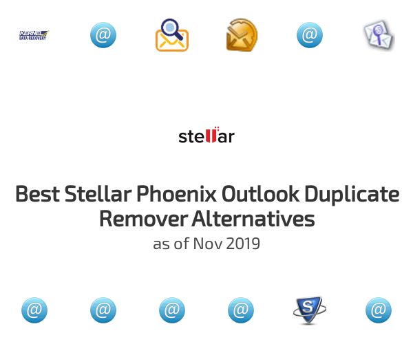 Best Stellar Phoenix Outlook Duplicate Remover Alternatives