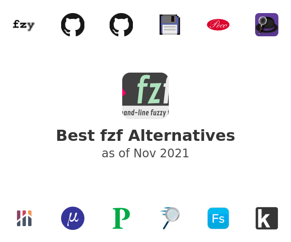 Best fzf Alternatives