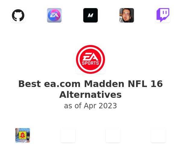 Best Madden NFL 16 Alternatives
