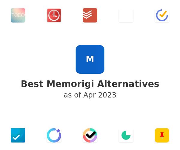 Best Memorigi Alternatives