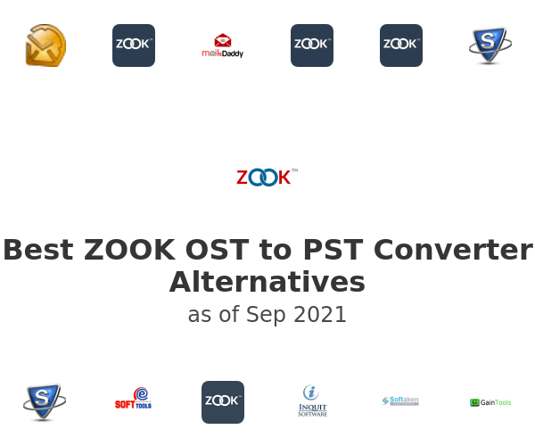 Best ZOOK OST to PST Converter Alternatives