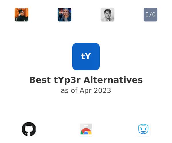 Best tYp3r Alternatives