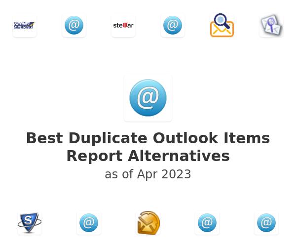 Best Duplicate Outlook Items Report Alternatives