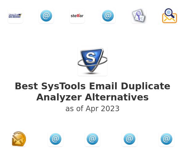 Best SysTools Email Duplicate Analyzer Alternatives