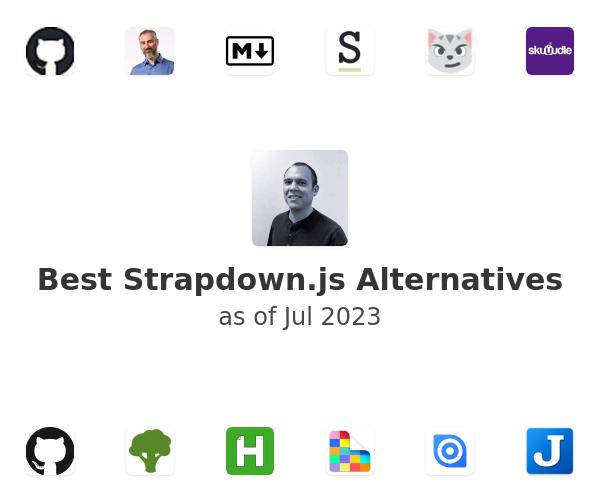 Best Strapdown.js Alternatives