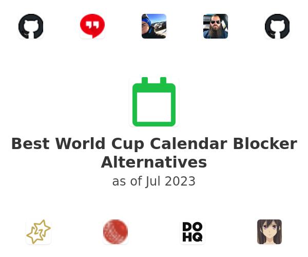 Best World Cup Calendar Blocker Alternatives
