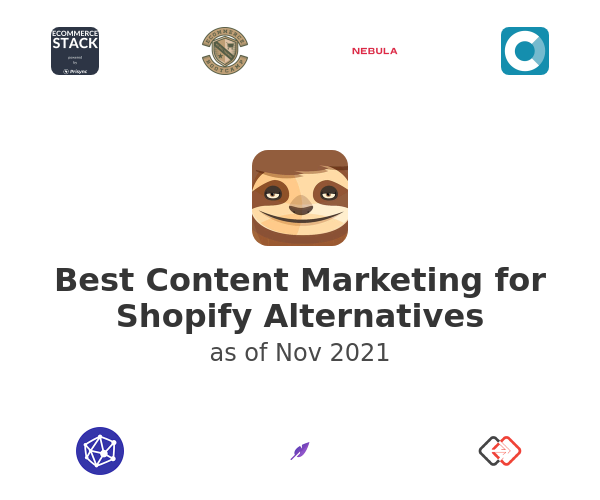 Best Content Marketing for Shopify Alternatives