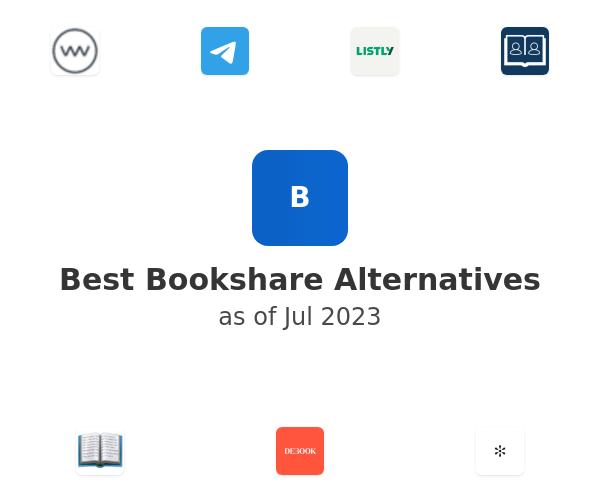 Best Bookshare Alternatives