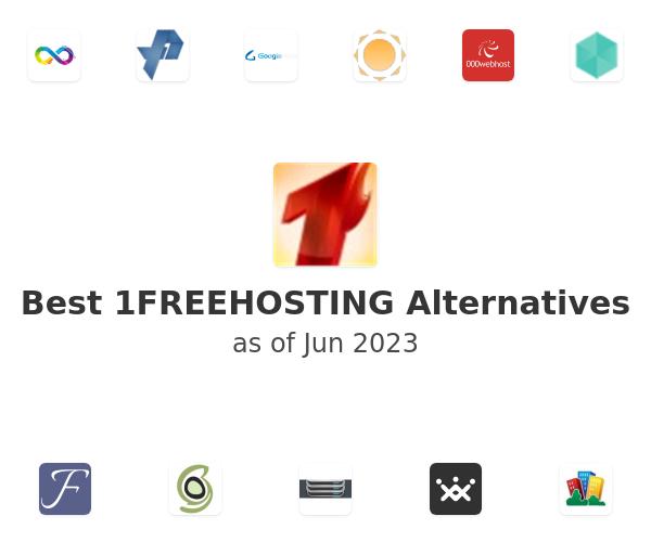 Best 1FREEHOSTING Alternatives