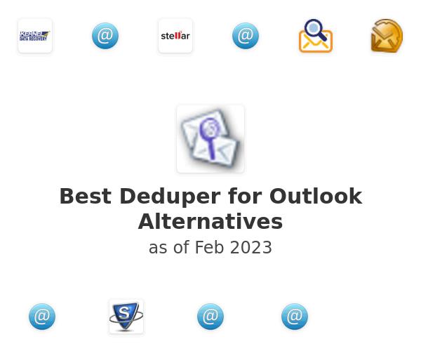 Best Deduper for Outlook Alternatives