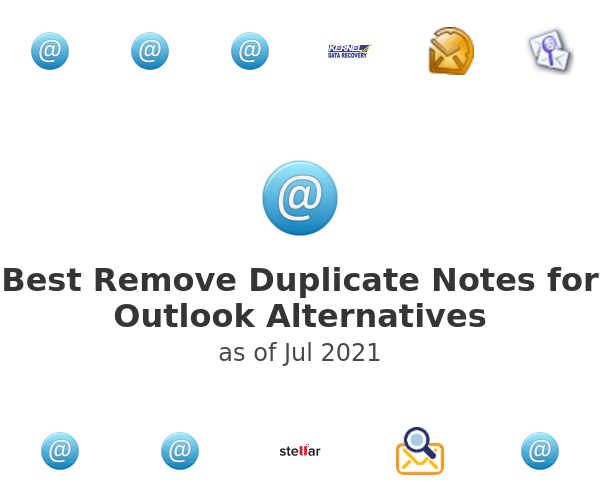 Best Remove Duplicate Notes for Outlook Alternatives