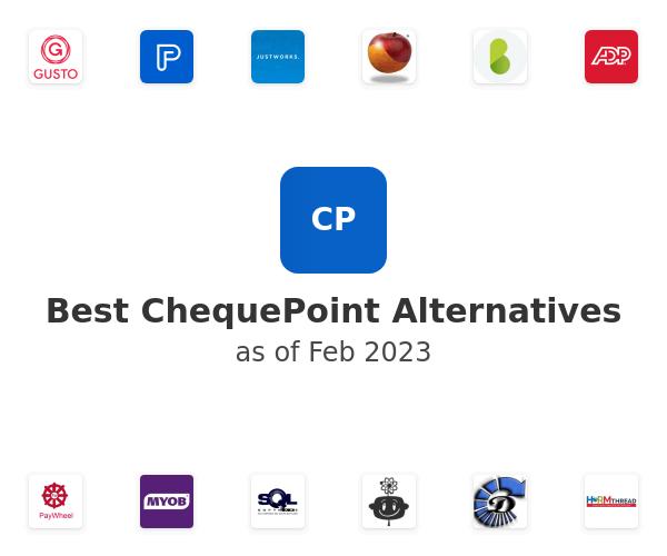 Best ChequePoint Alternatives